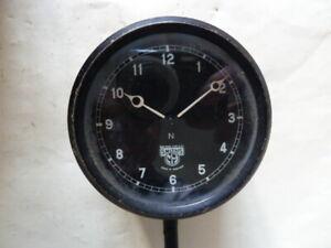 Vintage Smiths N Car Clock - Working.