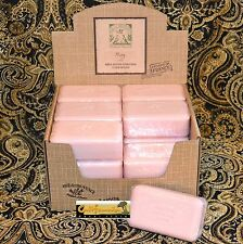 Pre de Provence French Soap PEONY Scent Case of 18 x 150 Gram Bath Shower Bars