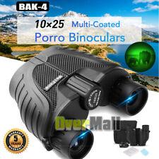 Binoculars for Adults Kids, 10x25 Binoculars Bak4 for Bird Watching Night Vision