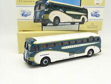 Corgi 1/50 - Car Autocar Yellow Coach 743 Greyhound Lines