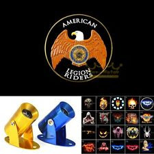 American Legion Riders Eagle Logo Motorcycle Projector Shadow CREE LED Light New