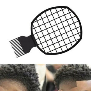 Double Ended Afro Curl Hair Comb Tinfoil Styling Comb Unisex