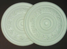 Decorators Bargain - 2 x Polystyrene Ceiling Rose 400mm ## FREE P&P Shop Soiled
