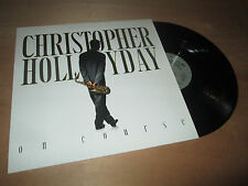 CHRISTOPHER HOLLYDAY on course SMOOTH JAZZ BOP NOVUS Lp 1990
