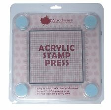 Woodware Acrylic Stamp Press 2977