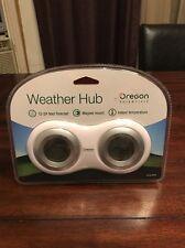 New Oregon Scientific Weather Hub, BA168 - White, Desk Top Weather Forecaster