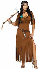 Indian Summer - Adult Native American Costume