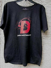 WHAT WOULD DEXTER DO ?  WOMENS T SHIRT*** SIZE XL** BRAND NEW**BLACK W/RED