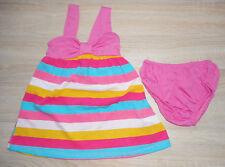 Baby Mädchen Sommer Kleid 💕 Set 2tlg 💕 Kleid + Höschen 💕 Jersey 💕 80/86 💕