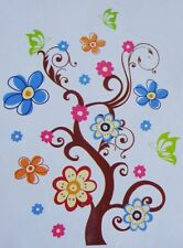 Removable Interior Wall Decor Decal Craft Art Sticker Flower Water Resistant