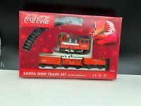 Coca Cola Santa Mini Train Set. Mit Ovp, Top Zustand