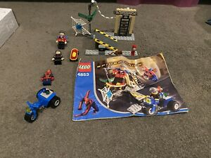 LEGO 4853 Spider-man2 Street Chase, 100% complete, instructions, no box