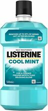 Listerine Antibacterial Mouthwash Coolmint, 500ml