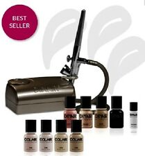 DINAIR AIRBRUSH MAKEUP KIT! PRO EDITION 2  PERFECT FOR HINDU BRIDES! GOLDEN TAN