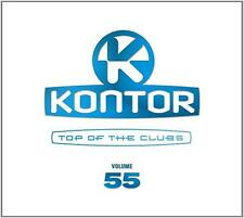 KONTOR = Top Of The Clubs 55 = Guetta/EDX/Klaas/Buuren...=3CD= groovesDELUXE!