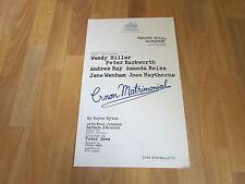 CROWN MATRIMONIAL by Royce Ryton ROYAL HAYMARKET Theatre Poster