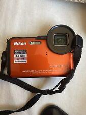 Nikon COOLPIX AW110 16.0MP Digital Camera - Orange