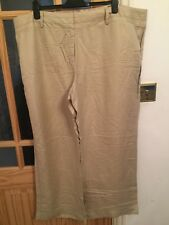 "Ladies Wide Legged Plus Size 26 , 32"" Inch Trousers, New, Party/night Out"