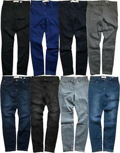 Women NEXT Jean Mid Rise Power Stretch Denim Legging Jeggings Skinny Jeans 8-18