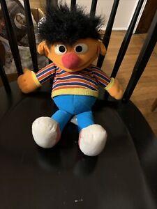 VTG Ernie Sesame Street Hand Puppet 1986 | | Playskool Muppets Hasbro K12