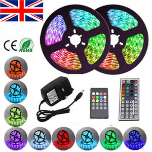 LED Strip RGB Colour Changing 3528 5050 SMD 60LED/M Waterproof Tape Lights Rope