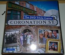 NEW sealed Coronation Street the DVD Trivia Game in Gift Tin