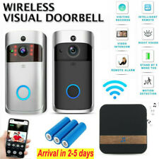 720P Smart Video Doorbell WiFi Wireless Intercom Door Bell Security Camera Kit
