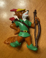 Vintage Bully Bullyland Disney Robin Hood Figure Germany 1982