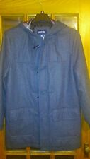 Jcpenney's St. John's Bay  Wool Blend Pea Style Coat with Horn Buttons Medium