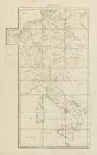Index map Germany Netherlands Switzerland Austria Italy. CHAUCHARD 1800