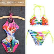 NEW Kids Baby Girls Beauty Mermaid Fancy Swimwear Swimsuit Bikini Set Age 2-10Y