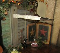Primitive Antique Style White Wash Wooden Metal Tin Arrow Hanger Replacement