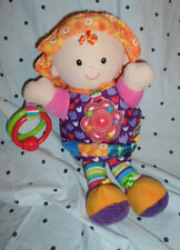 "Learning Curve Baby Activity Doll 13"" Plush Soft Toy Stuffed Animal"
