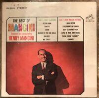 THE BEST OF MANCINI 1964 33 VINYL LP RECORD EXCELLENT