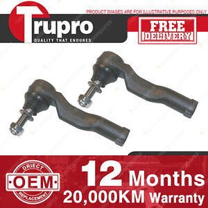 2 Pcs Trupro LH+RH Outer Tie Rod Ends for FORD TERRITORY SX & SY 04-09