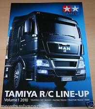 Tamiya 64358 R/C Line-Up Volume 1 2010 (English/RC), NEW