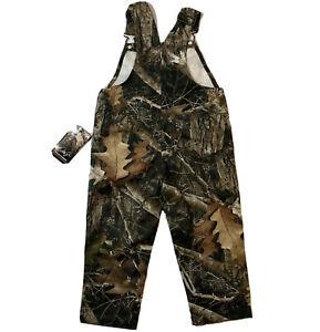 True Timber Kids KANATI Size 2T T Boy Bib Overall NWT Camo Realtree Camouflage