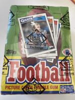 1987 TOPPS NFL Football Card BOX 36 Unopened Wax PACKS BBCE Wrapped NON X-Out