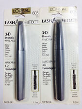 L'Oreal  Paris Lash Architect Mascara 605 black pack of 2