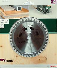 BOSCH Kreissägeblatt Special Holz, NE-Metalle �˜ 127 x12,75mm 40 Zähne 2609256897