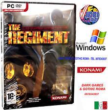 THE REGIMENT PC DVD @@ WINDOWS GIOCO ITA NUOVO ITALIANO