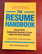 """1990 """"..How to Write Outstanding Resumes & Cover Letters"""" (Paperback, 2nd Ed.)"""