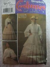 Simplicity 4900 OOP CIVIL WAR SOUTHERN BELLE DRESS JACKET Sewing Pattern Sz20-26