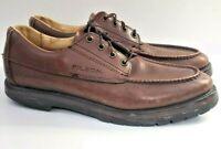 Filson Highlander Uplander Brown Leather Moc Toe Oxfford Leather Shoes Mens 9.5