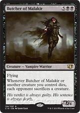 BUTCHER OF MALAKIR Commander 2017 MTG Black Creature — Vampire Warrior Rare