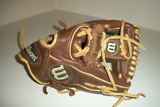 "Wilson A800 Leather Baseball Glove Showtime 11.5"" RHT Glove - A08RB16115"