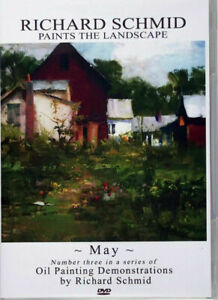 Richard Schmid MAY oil painting landscape ART DVD
