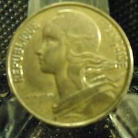 CIRCULATED 1981 10 CENTIMES FRENCH COIN (20519)1.....FREE DOMESTIC SHIPPING!!