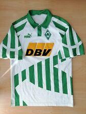 Werder Bremen Vintage Home Football Jersey M 1994 1995 Trikot Old DBV Puma