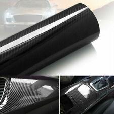 7d Car Interior Wrap Sticker Glossy Carbon Fiber Vinyl Car Sticker Bubble Free